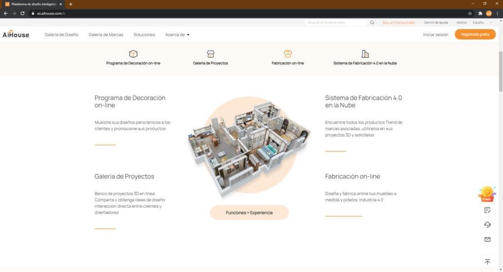 Página web de AiHouse en Español