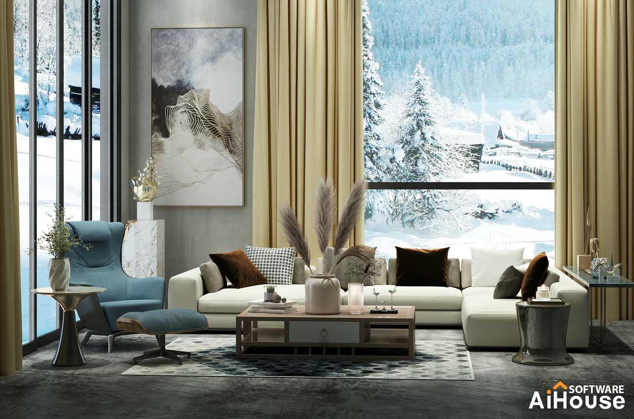 Programa diseño 3d salones AiHouse