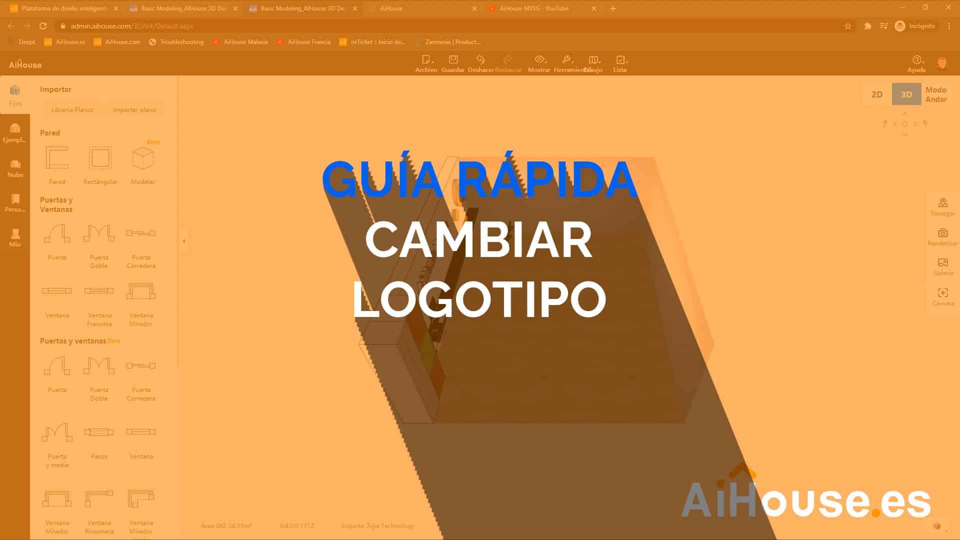 Guía Rápida - Cambiar Logotipo