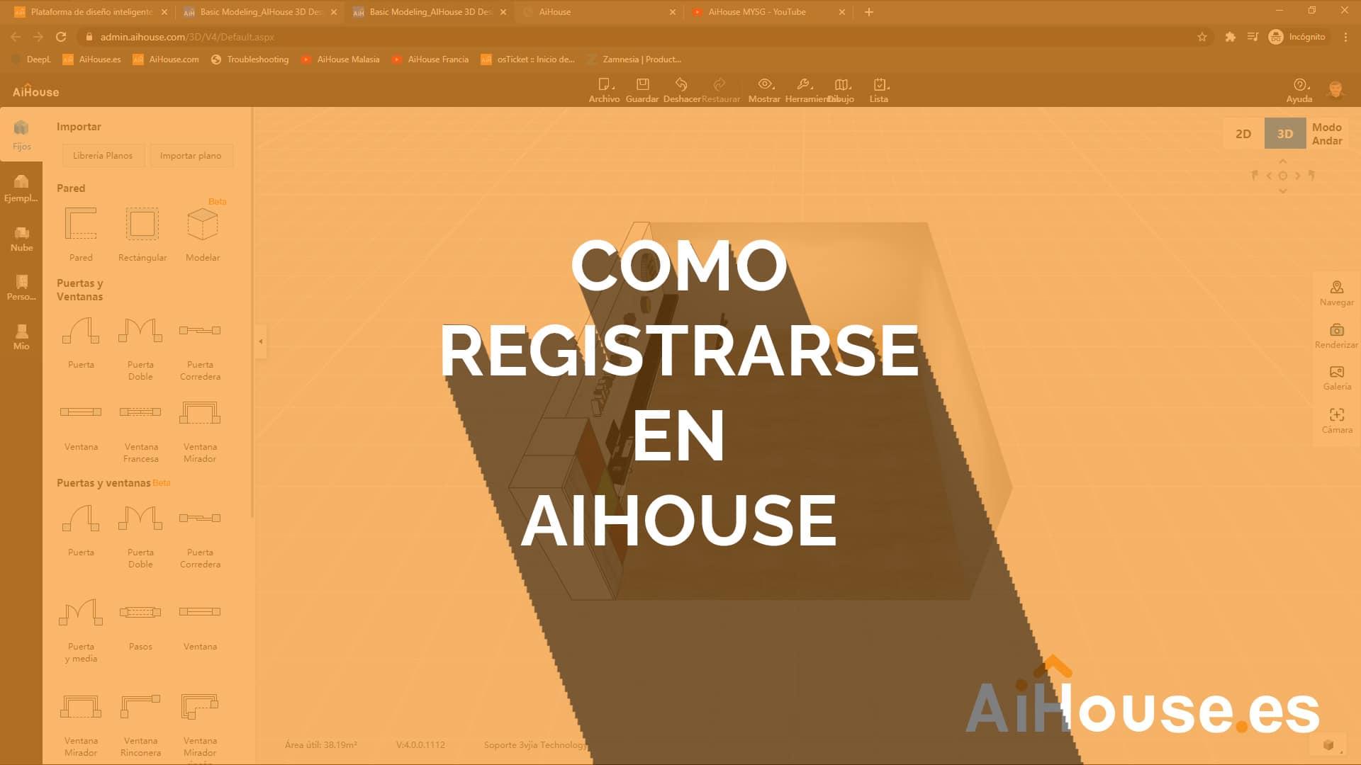 ¿Como me registro en AiHouse?