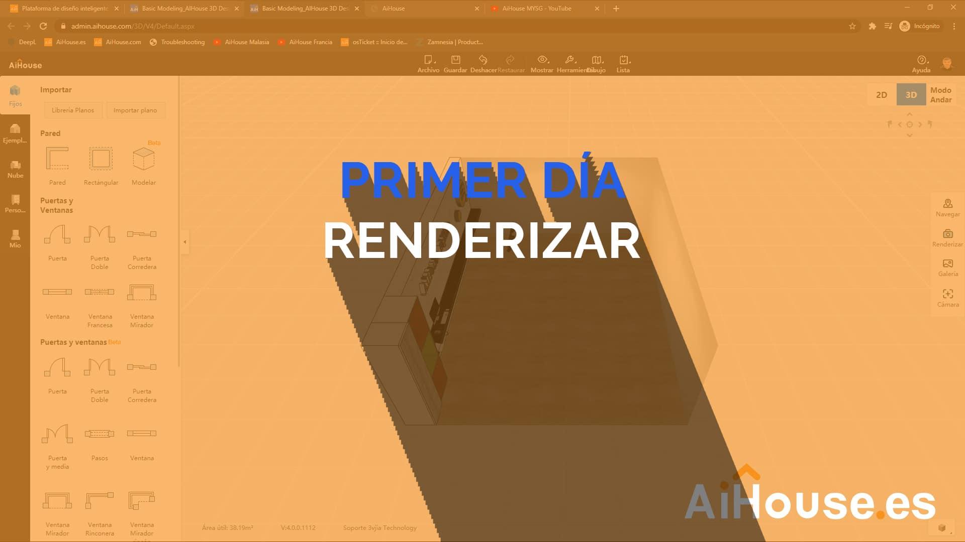 Formación AiHouse en Español - Día 1 - Renderizar