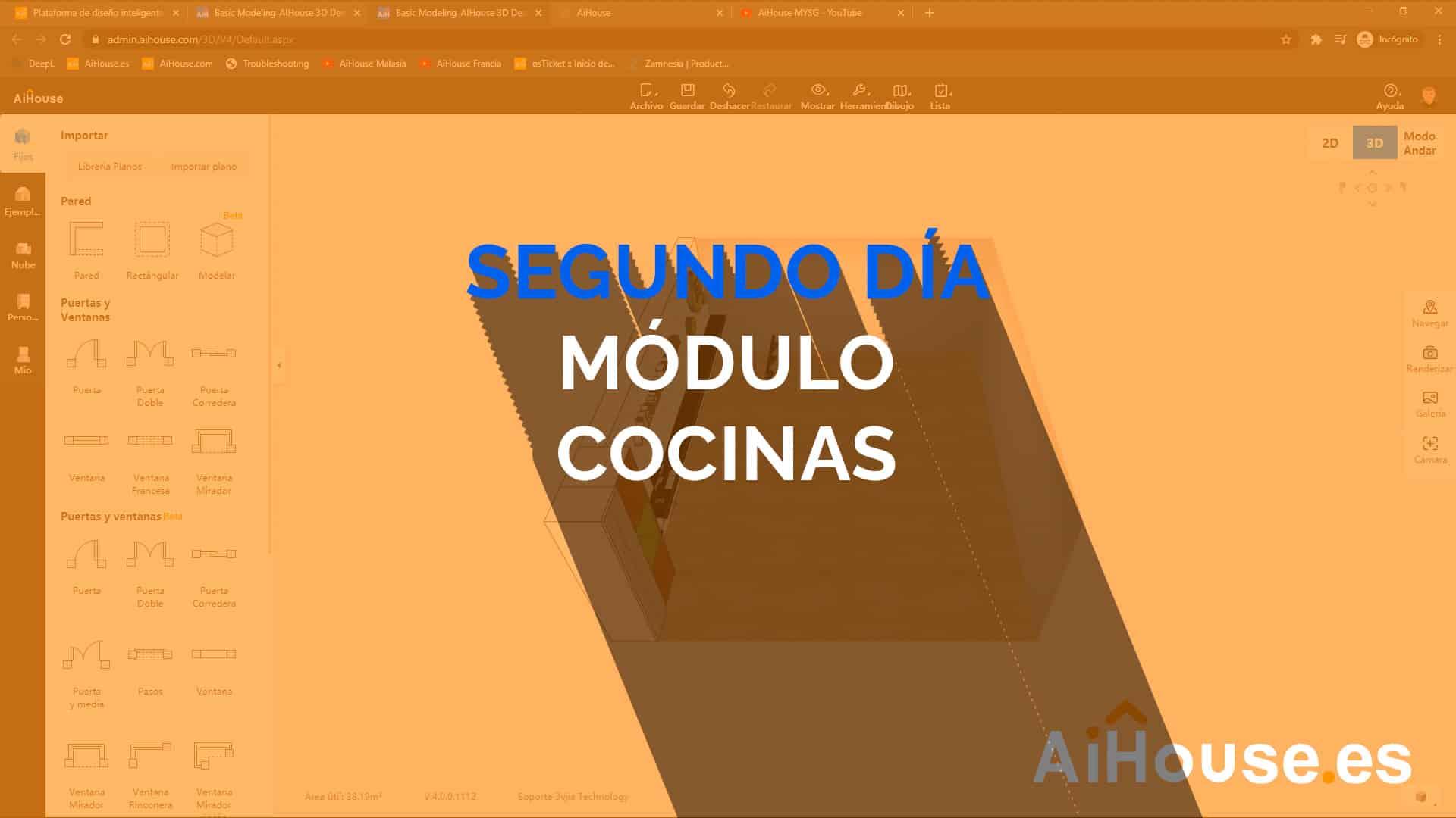 Centro de Formación AiHose en Español Módulo Cocinas