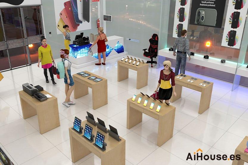 Tutorial como crear una tienda con AiHouse