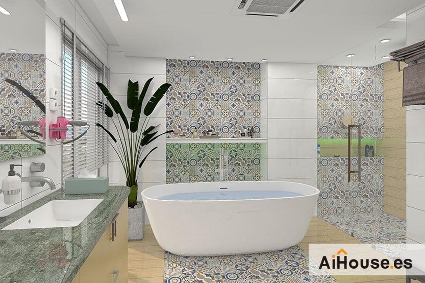 En este momento estás viendo Como crear un baño con AiHouse