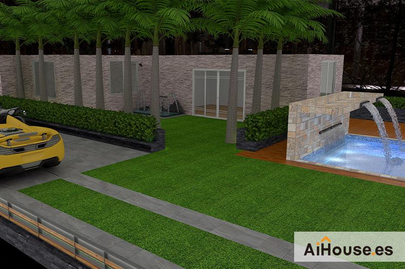 En este momento estás viendo Como hacer un jardín exterior con AiHouse