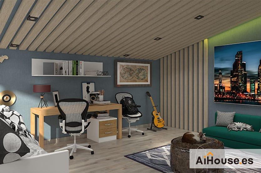 Como diseñar un dormitorio juvenil de Mueble Azor