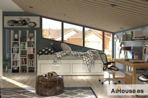 Lee más sobre el artículo Como diseñar un dormitorio juvenil de Muebles Azor