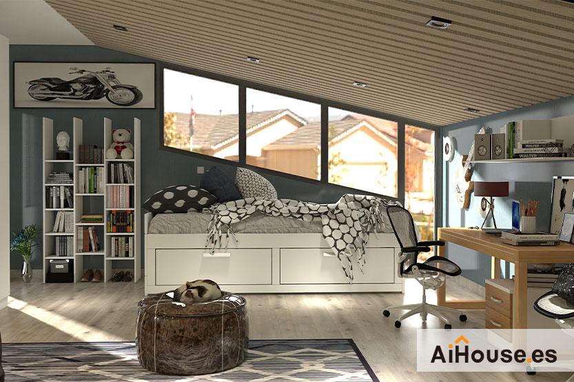 En este momento estás viendo Como diseñar un dormitorio juvenil de Muebles Azor