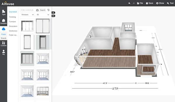 Convierte planos 2D a 3D de forma inteligente