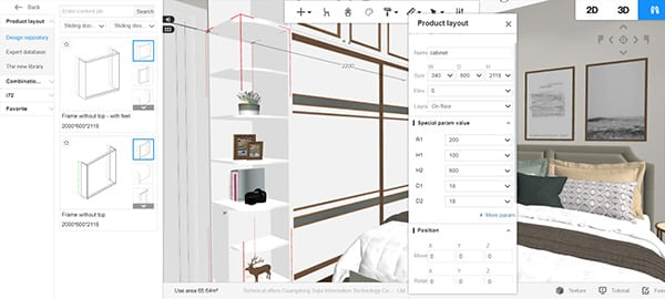 Diseño de muebles personalizados