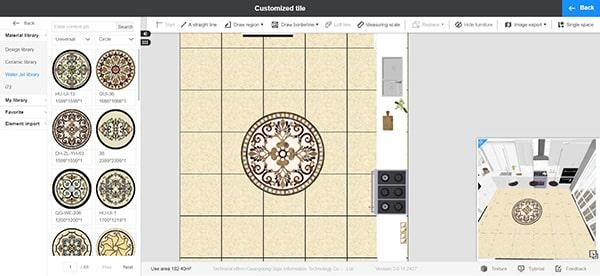 Diseños de azulejos personalizados